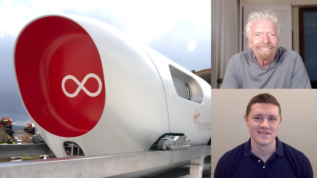 Inside Hyperloop's First Passenger Test