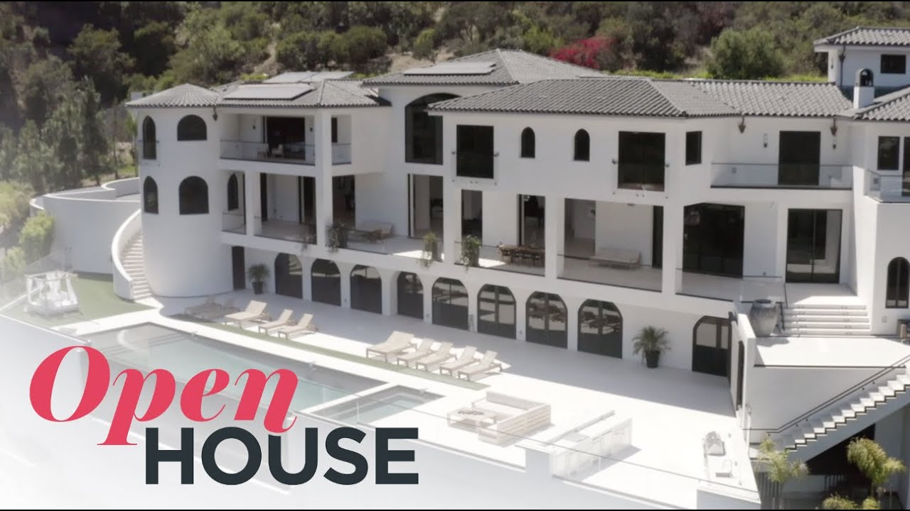 Jaw-Dropping Bel Air Estate with Designer Breegan Jane | Open House TV