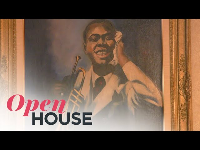 Legendary Musician Louis Armstrong's Perfectly Preserved Corona, Queens Home | Open House TV