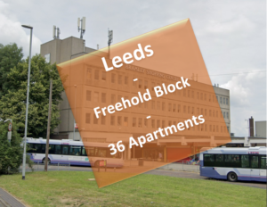 Freehold Block Of 36 Apartments, Leeds