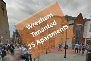 Portfolio Of 25 Apartments, Wrexham, Wales