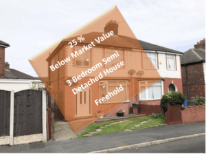 3-bed semi-detached investment property, RUNCORN, Cheshire