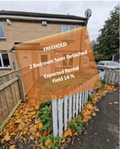 2 bed semi detached, Middlesbrough, Stockton On Tees, Englnad
