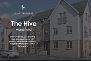 Brand new 1-bed flat in Mansfield, Nottingham