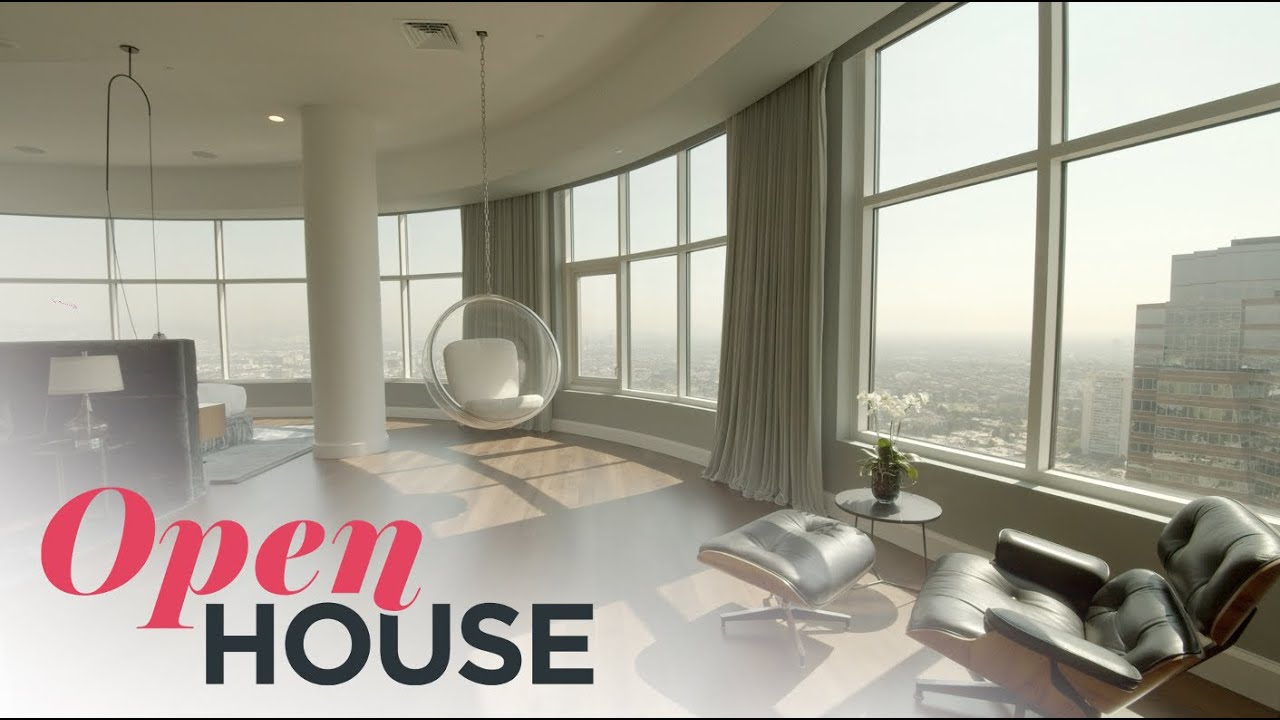 'Friends' Star Matthew Perry's Home in the Sky | Open House TV