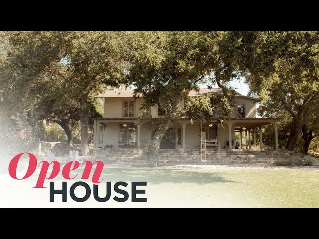 Farmhouse Style and Olive Orchard Estate in Ojai, California | Open House TV