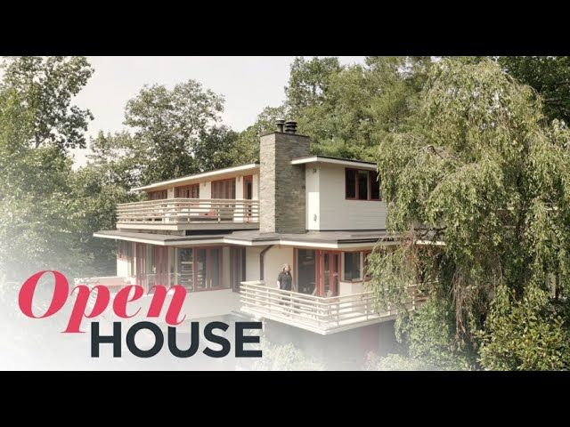 Frank Lloyd Wright-Inspired 1950s Home Restored with a Contemporary Flare | Open House TV