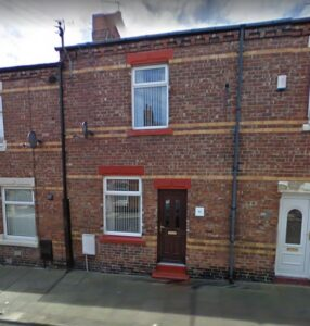 Tenanted FREEHOLD 2 bedroom Mid terrace house FOR SALE, County Durham