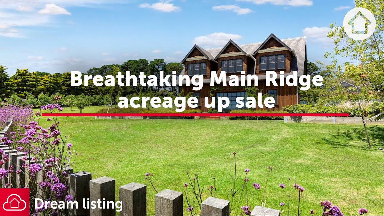 Breathtaking Main Ride acreage up sale | Realestate.com.au