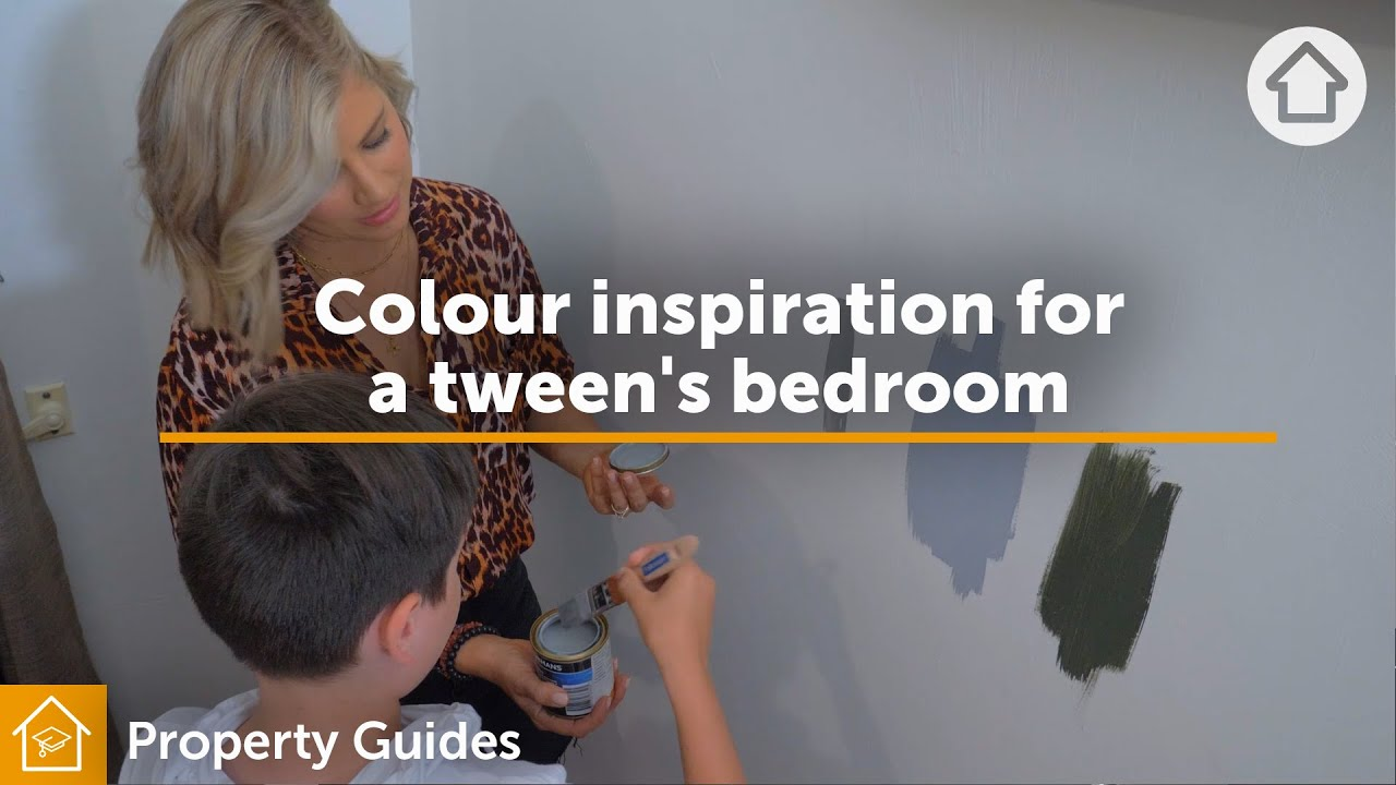 Colour inspiration for a tween's bedroom | Realestate.com.au