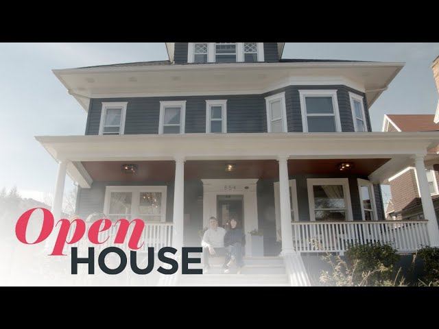 Reimagined 1908 Victorian-Style Home into Modern Retreat | Open House TV