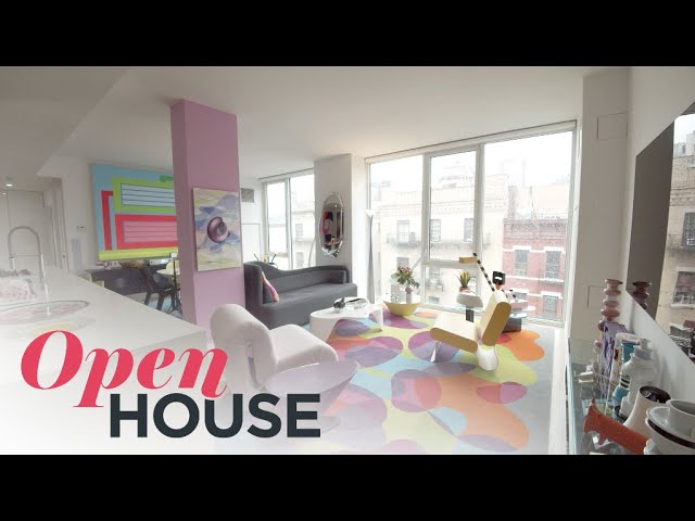 Designer Karim Rashid's Vibrant Apartment in NYC | Open House TV