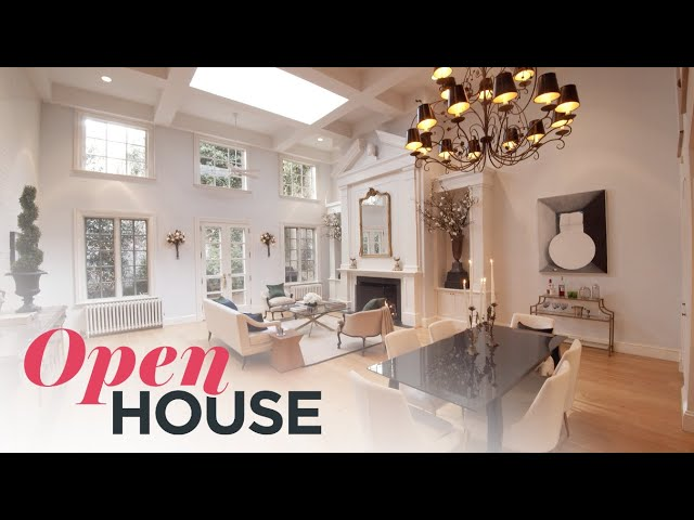 Former Carriage House to a Modern Manhattan Home | Open House TV