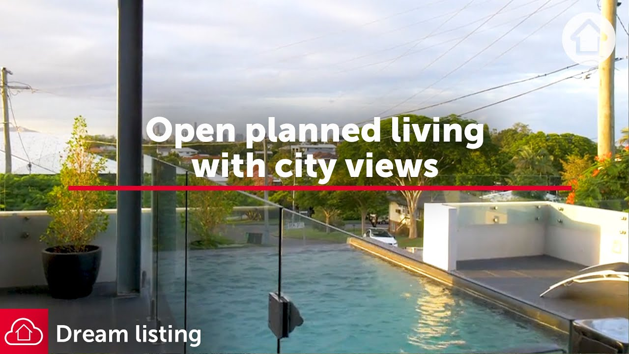 Open planned living with city views | Realestate.com.au