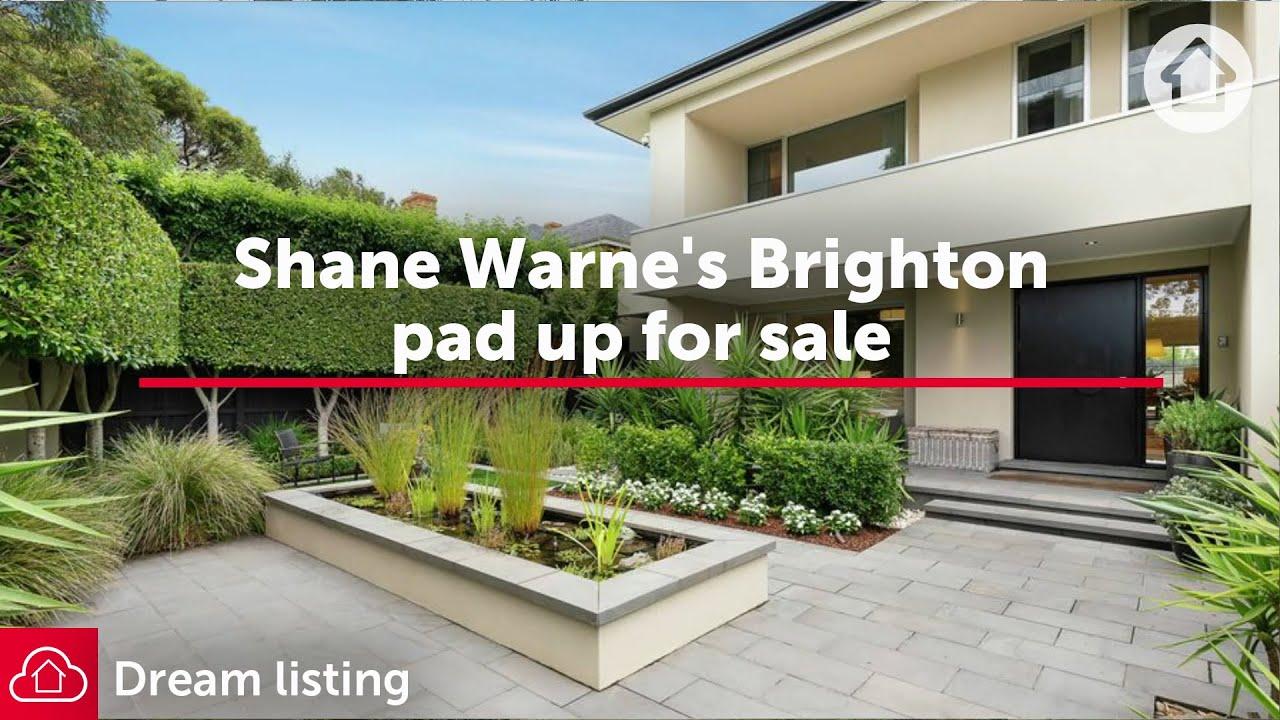 Shane Warne's Brighton pad up for sale | Realestate.com.au