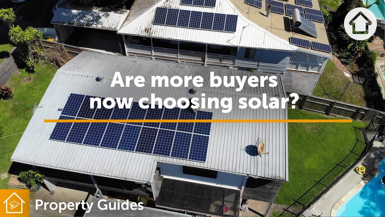 Are more buyers now choosing solar? | Realestate.com.au