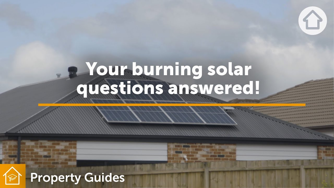 Your burning solar questions answered! | Realestate.com.au