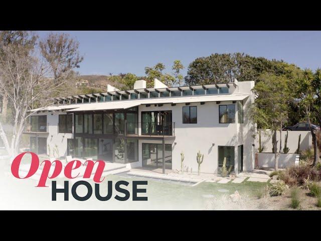 Designer Philippe Naouri's Sensational Malibu Hillside Estate | Open House TV