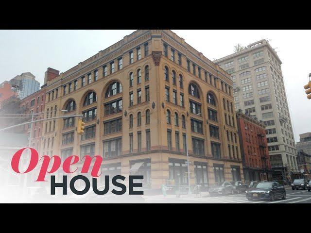 Luxurious, Beautifully Renovated Tribeca Loft | Open House TV