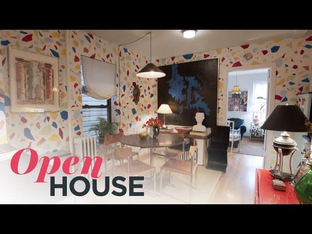 Designer Tara McCauley's Unique and Colorful Brooklyn Rental | Open House TV