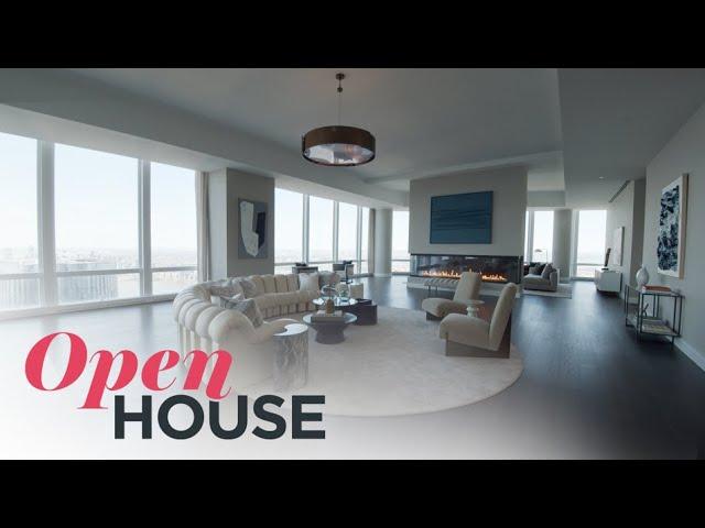 Interior Design Icon Tony Ingrao's Hudson Yards Penthouse | Open House TV