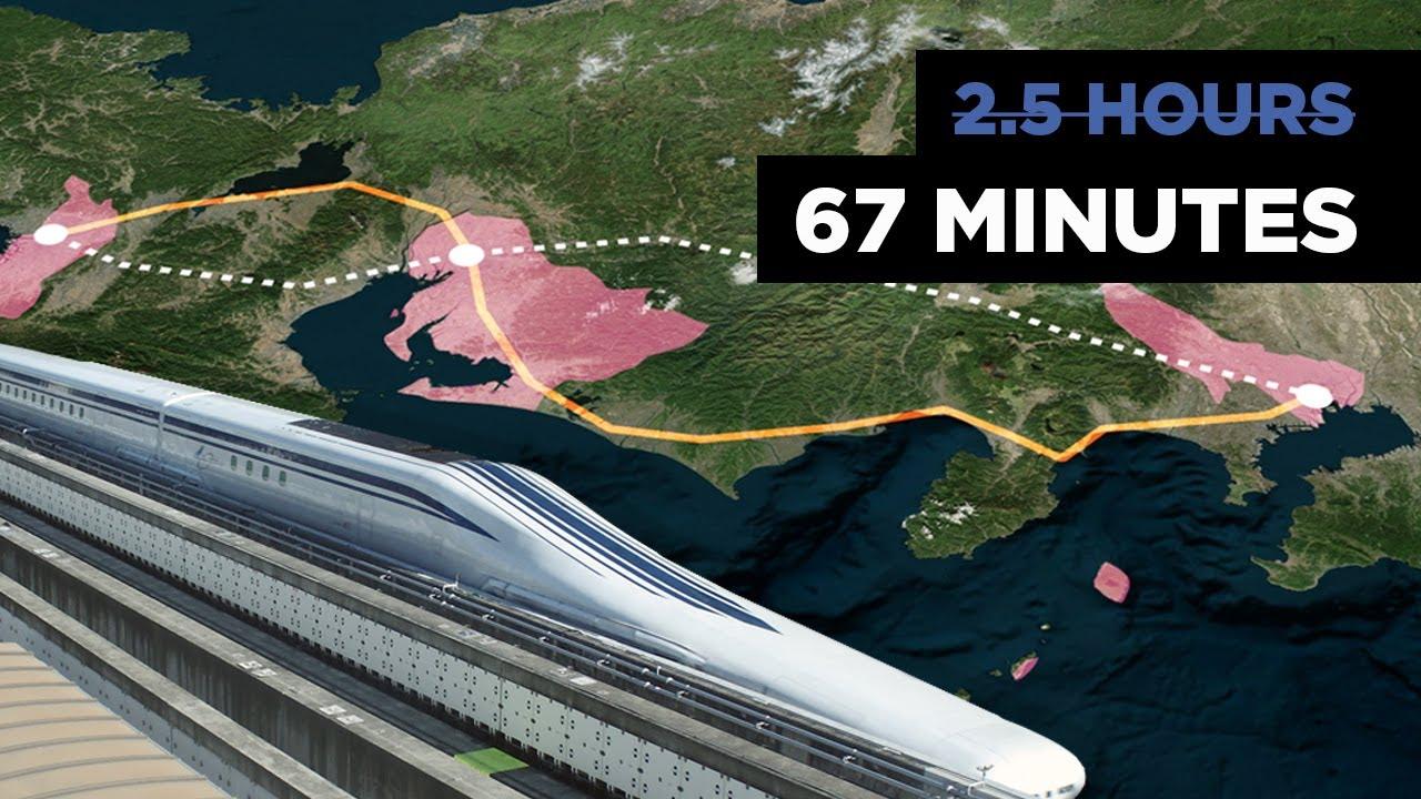 Japan's $64BN Gamble on Levitating Bullet Trains Explained
