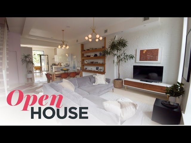 Designer Carly Cushnie's Stylish Bed Stuy Brooklyn Townhouse | Open House TV
