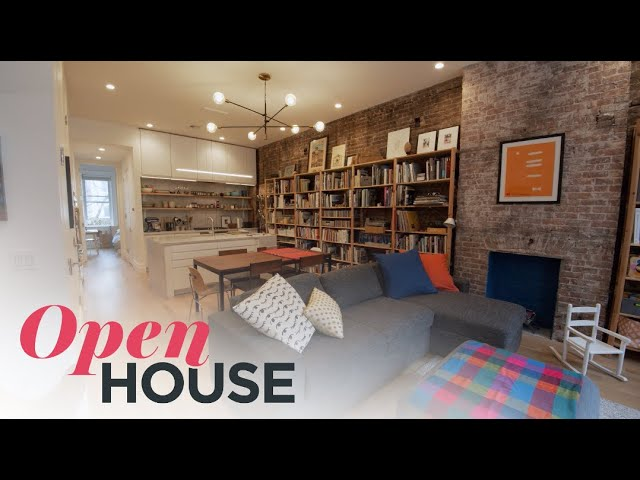 Architect Denis Schofield Shows Off His Own Functional & Stylish Hoboken Family Home | Open House TV